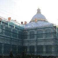 Реставрация фасадов зданий и внутреннего убранства Свято-Троицкой Александро-Невской Лавры (мужской монастырь).